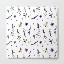 Lavender 0 Metal Print