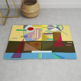 Wassily Kandinsky Disintegrated Tension Rug
