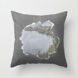 lovely life Throw Pillow