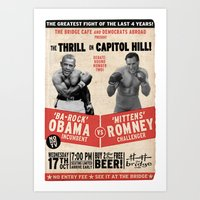 The Thrill on Capitol Hill Art Print