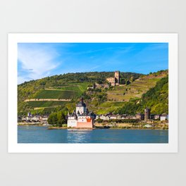 THE RHINE 01 Art Print