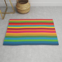 Color Stripes - horizontal Rug
