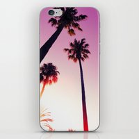 palm tree iPhone & iPod Skins featuring Palm tree by Emma.B