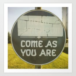 Come As You Are Art Print