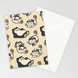 Poke atsume Stationery Cards