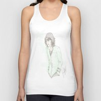 bleach Tank Tops featuring Bleach: Ulquiorra by JaneSheep