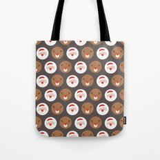 Day 19/25 Advent - Santa's Slaves III Tote Bag