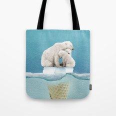 polar ice cream cap 02 Tote Bag