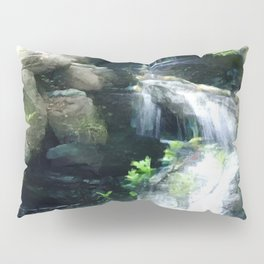 The Flowing Waterfall Pillow Sham