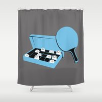 forrest gump Shower Curtains featuring Forrest Gump by FilmsQuiz
