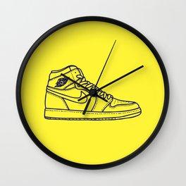 """Jordan 1 """"M I C H"""" Wall Clock"""