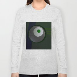 Fired egg & a pea Long Sleeve T-shirt