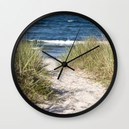 Sand Dune of Island Ruegen Wall Clock