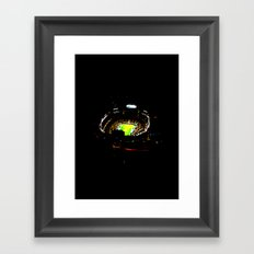 Touch Down Framed Art Print