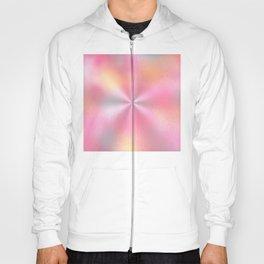 Pink Starburst Pattern Hoody
