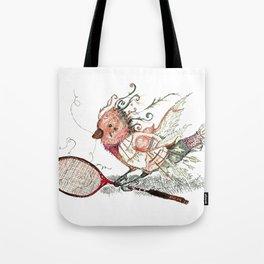 The Wild Badminton Birdie Tote Bag