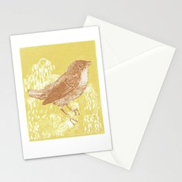Song bird Stationery Cards