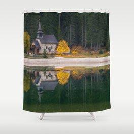 Dolomites 10 - Italy Shower Curtain