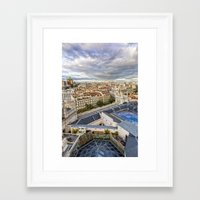 madrid Framed Art Prints featuring Madrid by Solar Designs