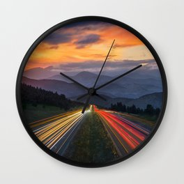 I-70 Traffic Wall Clock