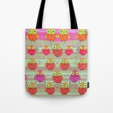 Winter owl Tote Bag