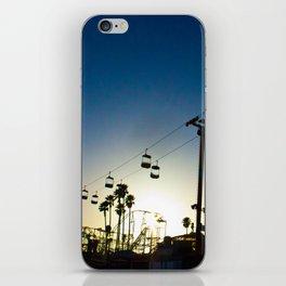 Sunset at the Boardwalk iPhone Skin