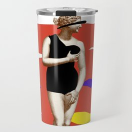 Modern Venus in a Swimsuit  Travel Mug