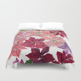 Shades Of Christmas Duvet Cover