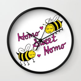Homo Sweet Homo Wall Clock