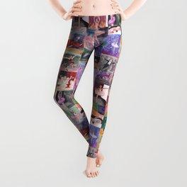 Nutcracker Pattern Leggings
