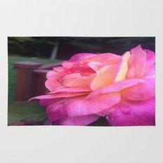 Roses in Rhode Island Rug