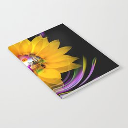 New York NYC - Statue of Liberty - sunrise Notebook
