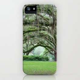 Southern Grace iPhone Case