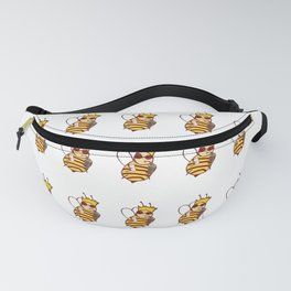 red queen pattern! Fanny Pack