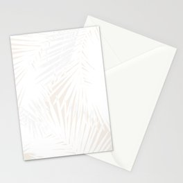 Palms White & Nude Stationery Cards