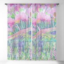 Spring is Sprung Sheer Curtain