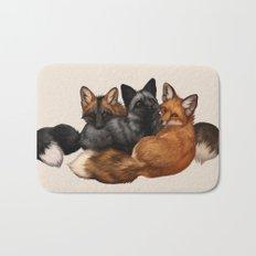 Fox Trio Bath Mat