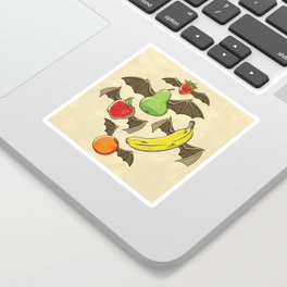 Fruit Bats Sticker