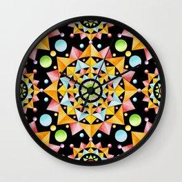 Fiesta Confetti Wall Clock