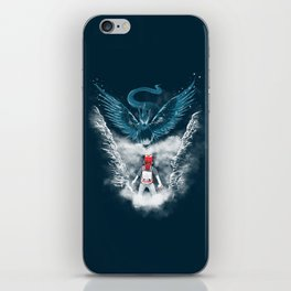 Ice Bird Encounter iPhone Skin