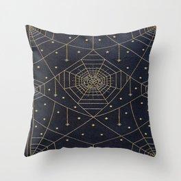 Spider Silk Stars Book Throw Pillow