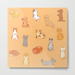 Bring me along on this Purrrrfect Day! (Collaboration with Ana Treasure Box) Metal Print