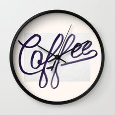 Coffee Wall Clock