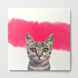 hello kitten Metal Print