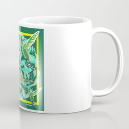 Green Bird lovers ecopop Coffee Mug