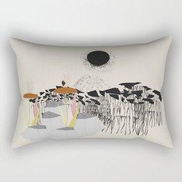 Drippy hills Rectangular Pillow