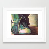 nike Framed Art Prints featuring Nike by Taylor Foerster