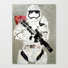 FIRST ORDER STORM TROOPER Canvas Print