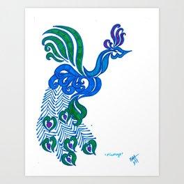 Plumage Art Print