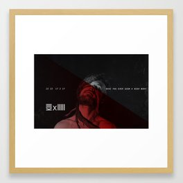 Z/MBªBW3 X KIIIII Flyer Framed Art Print